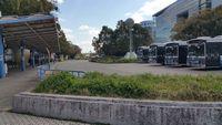 栄にあった市バスターミナル噴水南のりば2019年3月25日に移転